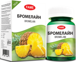 Бромелайн из ананаса капсулы FAME